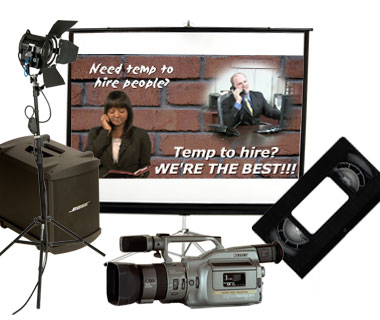 CSRA Multimedia equipment